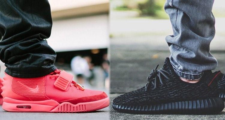 Nike Adidas Yeezys