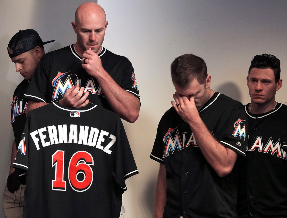 Marlins Fernandez Killed Baseball