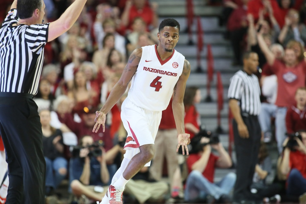 NCAA Basketball: Mississippi at Arkansas