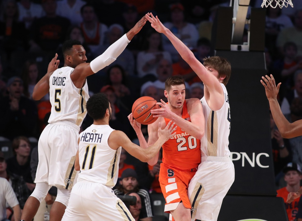 NCAA Basketball: Syracuse at Georgia Tech