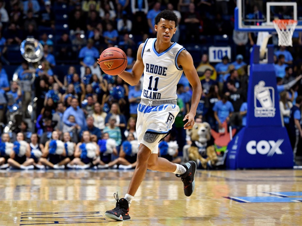 NCAA Basketball: Dartmouth at Rhode Island