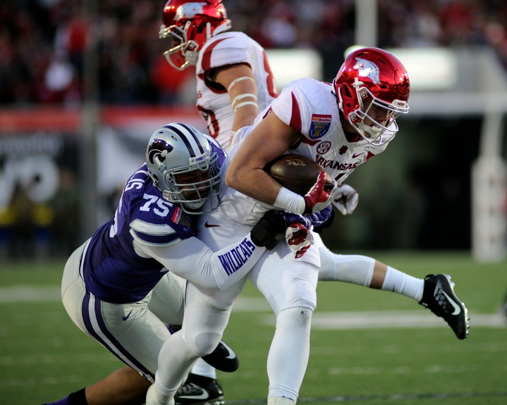 NCAA Football: Liberty Bowl-Kansas State vs Arkansas