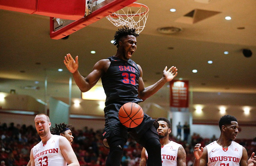 NCAA Basketball: Southern Methodist at Houston