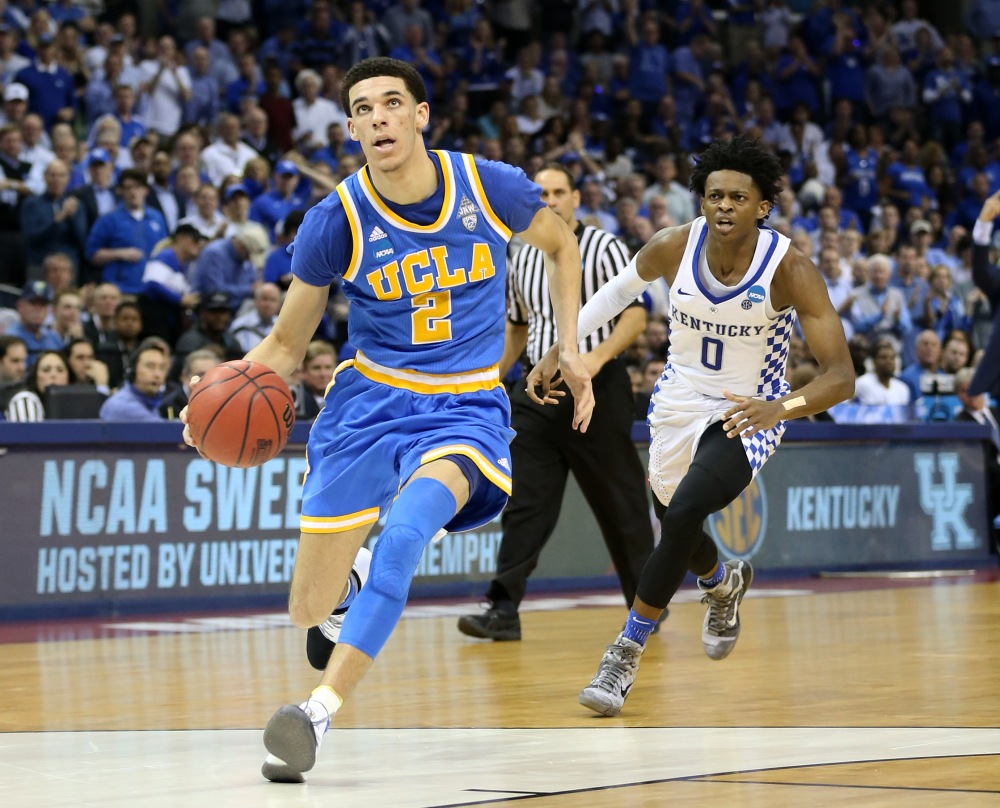 NCAA Basketball: NCAA Tournament-South Regional-Kentucky vs UCLA